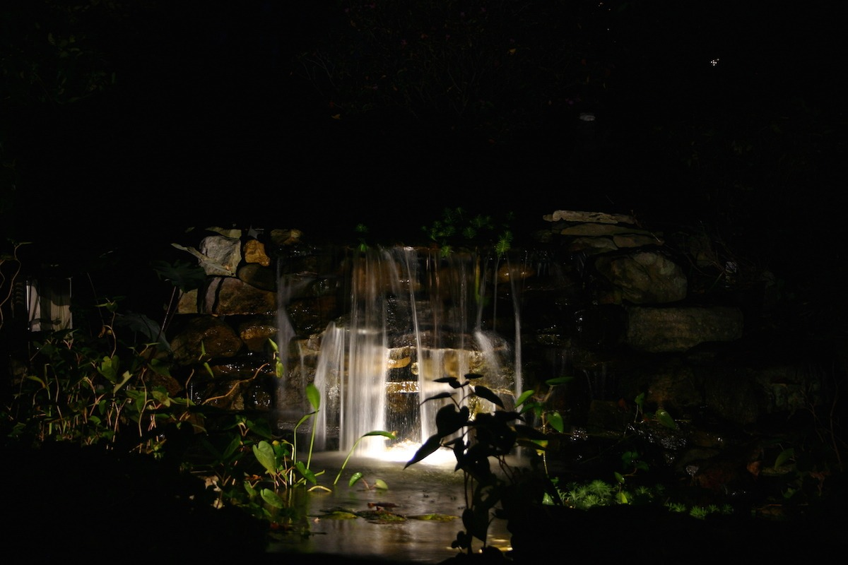 Waterfall Lighting 3 - Virginia Outdoor Lighting