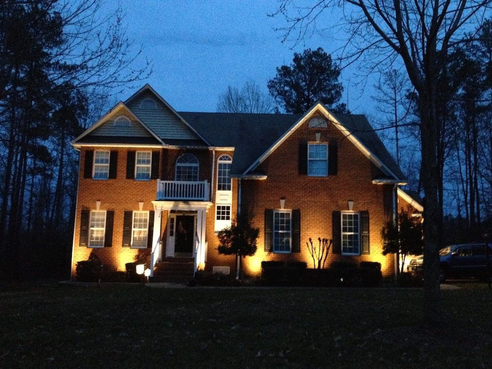 Gallery virginia outdoor lighting for Building exterior lighting design